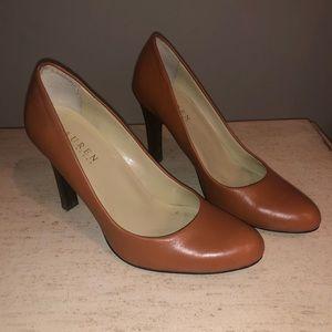 Ralph Lauren brown pumps